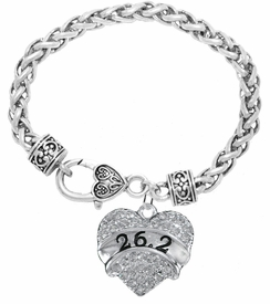 "<BR>                       THE ""PERFECT GIFT""<BR>"" 26.2 ""  BRACELET EXCLUSIVELY OURS!!   <Br>               AN ALLAN ROBIN DESIGN!!   <br>                         HYPOALLERGENIC<BR>        NICKEL, LEAD & CADMIUM FREE!   <BR>W1778B1- FROM $5.98 TO $12.85 �2015"