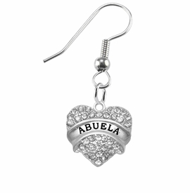 "<BR>                       THE ""PERFECT GIFT""<BR>       ""ABUELA""  EXCLUSIVELY OURS!!   <Br>               AN ALLAN ROBIN DESIGN!!   <br>                         HYPOALLERGENIC<BR>        NICKEL, LEAD & CADMIUM FREE!!   <BR>W1759E1- FROM $5.98 TO $12.85 ©2015"