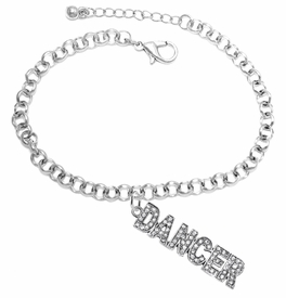 "<BR>                       THE ""PERFECT GIFT""<BR>""DANCER""  BRACELET EXCLUSIVELY OURS!!   <Br>               AN ALLAN ROBIN DESIGN!!   <br>                         HYPOALLERGENIC<BR>        NICKEL, LEAD & CADMIUM FREE!   <BR>W1785B2- FROM $7.90 TO $12.50 �2015"
