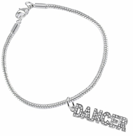 "<BR>                       THE ""PERFECT GIFT""<BR>""DANCER""  BRACELET EXCLUSIVELY OURS!!   <Br>               AN ALLAN ROBIN DESIGN!!   <br>                         HYPOALLERGENIC<BR>        NICKEL, LEAD & CADMIUM FREE!   <BR>W1785B7- FROM $7.90 TO $12.50 �2015"