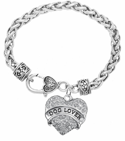 "<BR>                       THE ""PERFECT GIFT""<BR>""DOG LOVER""  BRACELET EXCLUSIVELY OURS!!   <Br>               AN ALLAN ROBIN DESIGN!!   <br>                         HYPOALLERGENIC<BR>        NICKEL, LEAD & CADMIUM FREE!   <BR>W1779B1- FROM $5.98 TO $12.85 �2015"