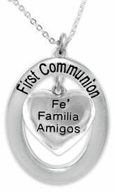 "<BR>                       THE ""PERFECT GIFT""<BR>       ""FIRST COMMUNION""  EXCLUSIVELY OURS!!   <Br>               AN ALLAN ROBIN DESIGN!!   <br>                         HYPOALLERGENIC<BR>        NICKEL, LEAD & CADMIUM FREE!!   <BR>W601F1- FROM $5.98 TO $12.85 �2015"