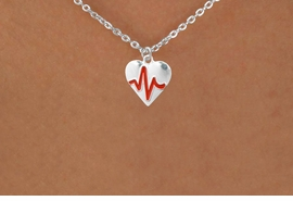 "<BR>                  CHILDREN'S 12"" ADJUSTABLE NECKLACE ""THE PERFECT GIFT"",<BR>                               ""Your Love Makes My Heart Beat"","" I Love You"", Or<BR>                                  In Recognition Of ""Children's Heart Disease""<BR>                           "" HEARTBEAT "" SMALL CHAIN ADJUSTABLE NECKLACE<BR>                                     AN ORIGINAL ALLAN ROBIN CUSTOM DESIGN<br>                                                   WHOLESALE CHARM NECKLACE <BR>                                                 LEAD, CADMIUM & NICKEL FREE!!  <BR>             W21600N-SMALL CHAIN, BRIGHT SILVER TONE ADJUSTABLE NECKLACE <BR>                         FITS 12"" TO 15""  FROM $5.60 TO $9.85 EACH! ©2015"
