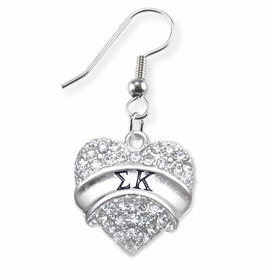 <BR>LICENSED SORORITY JEWELRY MANUFACTURER<BR>           SIGMA KAPPA SORORITY EARRINGS<BR>              NICKEL, LEAD,  & CADMIUM FREE! <BR>                    EXCLUSIVELY OURS W1733E1<BR>            FROM $7.90 TO $12.50 EACH �2015 <BR>