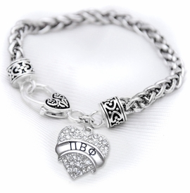 <BR>LICENSED SORORITY JEWELRY MANUFACTURER<BR>                  PI BETA PHI SORORITY BRACELET<BR>                 NICKEL, LEAD,  & CADMIUM FREE! <BR>                       EXCLUSIVELY OURS W1734B1<BR>               FROM $7.90 TO $12.50 EACH �2015 <BR>