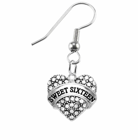 "<bR>                 EXCLUSIVELY OURS!!<Br>           AN ALLAN ROBIN DESIGN!!<BR>  CLICK HERE TO SEE 120+ EXCITING<BR>     CHANGES THAT YOU CAN MAKE!<BR>     LEAD, NICKEL & CADMIUM FREE!!<BR>W1343SE1 - AUSTRIAN CRYSTAL ""GRANDMA"" <BR>           HEART CHARM EARRINGS <BR>       FROM $4.95 TO $10.00 �2012"