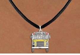 <BR>   WHOLESALE EDUCATION COSTUME JEWELRY <bR>                    EXCLUSIVELY OURS!! <Br>               AN ALLAN ROBIN DESIGN!! <BR>      CLICK HERE TO SEE 1000+ EXCITING <BR>            CHANGES THAT YOU CAN MAKE! <BR>         LEAD, NICKEL & CADMIUM FREE!! <BR> W1523SN - SILVER TONE WITH YELLOW FILL <BR>    AND CLEAR CRYSTAL SCHOOL BUS CHARM <BR>     NECKLACE FROM $5.40 TO $9.85 �2013