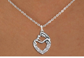 <BR>   WHOLESALE PARENTING NECKLACE JEWELRY <bR>                   EXCLUSIVELY OURS!! <Br>              AN ALLAN ROBIN DESIGN!! <BR>     CLICK HERE TO SEE 1000+ EXCITING <BR>           CHANGES THAT YOU CAN MAKE! <BR>        LEAD, NICKEL & CADMIUM FREE!! <BR>   W1539SN - ANTIQUED SILVER TONE AND <BR>CLEAR CRYSTAL MOTHER AND CHILD <BR> CHARM NECKLACE FROM $5.40 TO $9.85 �2013
