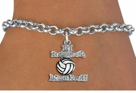 "<br>   WHOLESALE SPORTS FASHION BRACELET <bR>                    EXCLUSIVELY OURS!!<BR>               AN ALLAN ROBIN DESIGN!!<BR>      CLICK HERE TO SEE 1600+ EXCITING<BR>            CHANGES THAT YOU CAN MAKE!<BR>         CADMIUM, LEAD & NICKEL FREE!!<BR>     W1546SB - BEAUTIFUL SILVER TONE <Br>""IF I BELIEVE IT, I CAN DO IT!"" CHARM & BRACELET <BR>             FROM $4.50 TO $8.35 �2013"