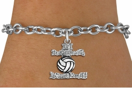 "<br>   WHOLESALE SPORTS FASHION BRACELET <bR>                    EXCLUSIVELY OURS!!<BR>               AN ALLAN ROBIN DESIGN!!<BR>      CLICK HERE TO SEE 1000+ EXCITING<BR>            CHANGES THAT YOU CAN MAKE!<BR>         CADMIUM, LEAD & NICKEL FREE!!<BR>     W1546SB - BEAUTIFUL SILVER TONE <Br>""IF I BELIEVE IT, I CAN DO IT!"" CHARM & BRACELET <BR>             FROM $4.50 TO $8.35 �2013"