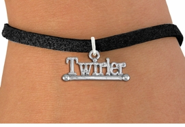 "<br> WHOLESALE COSTUME FASHION BRACELET <bR>                    EXCLUSIVELY OURS!!<BR>               AN ALLAN ROBIN DESIGN!!<BR>      CLICK HERE TO SEE 1000+ EXCITING<BR>            CHANGES THAT YOU CAN MAKE!<BR>         CADMIUM, LEAD & NICKEL FREE!!<BR>     W1551SB - BEAUTIFUL SILVER TONE <Br>""TWIRLER"" WITH BATON CHARM & BRACELET <BR>             FROM $4.50 TO $8.35 �2013"