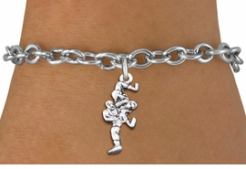 <br> WHOLESALE SPORTS FASHION BRACELET <bR>                    EXCLUSIVELY OURS!!<BR>               AN ALLAN ROBIN DESIGN!!<BR>      CLICK HERE TO SEE 1000+ EXCITING<BR>            CHANGES THAT YOU CAN MAKE!<BR>         CADMIUM, LEAD & NICKEL FREE!!<BR>     W1552SB - DETAILED 3D SILVER TONE <Br>TWO WRESTLERS CHARM & BRACELET <BR>             FROM $4.50 TO $8.35 �2014