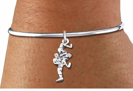 <bR>    WHOLESALE FASHION CHARM BRACELET <BR>                     EXCLUSIVELY OURS!! <BR>                AN ALLAN ROBIN DESIGN!! <BR>          CADMIUM, LEAD & NICKEL FREE!! <BR>        W1552SB - DETAILED 3D SILVER TONE  <BR>TWO WRESTLERS CHARM & SOLID WIRE <BR>      BRACELET FROM $4.40 TO $9.20 �2014