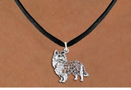 <BR>       WHOLESALE FASHION DOG JEWELRY <bR>                     EXCLUSIVELY OURS!! <Br>                AN ALLAN ROBIN DESIGN!! <BR>       CLICK HERE TO SEE 1000+ EXCITING <BR>             CHANGES THAT YOU CAN MAKE! <BR>          LEAD, NICKEL & CADMIUM FREE!! <BR>  W1564SN - ANTIQUED SILVER TONE CLEAR AND <BR>TOPAZ CRYSTAL COLLIE DOG CHARM <BR>      NECKLACE FROM $5.40 TO $9.85 �2014