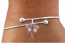<BR>                            WHOLESALE SPORTS JEWELRY <bR>                                     EXCLUSIVELY OURS!! <Br>                                AN ALLAN ROBIN DESIGN!! <BR>                       CLICK HERE TO SEE 125+ EXCITING <BR>                          CHANGES THAT YOU CAN MAKE! <BR>                         LEAD, NICKEL & CADMIUM FREE!! <BR>    W1585B - ADJUSTABLE BALL TIPPED SKINNEY LACROSSE<BR> WITH CRYSTAL BALL BRACELET FROM $5.40 TO $9.85 �2014