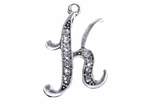 "W1592-K-SC CRYSTAL SCRIPT ""K"" CHARM <BR><FONT size=""2"">Buy 1-2 for $4.25 Each<br>Buy 3-5 for $4.15 Each<br>Buy 6-11 for $3.65 Each<br>Buy 12-23 for $3.45 Each<br>Buy 24-49 for $3.25 Each<br>Buy 50 or More for $3.09 Each</font>"