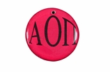 "W1619SC - ALPHA OMICRON PI COLOR DISK CHARM<BR><FONT size=""2"">Buy 1-2 for $6.25 Each<br>Buy 3-5 for $5.63 Each<br>Buy 6-11 for $3.75 Each<br>Buy 12-23 for $3.56 Each<br>Buy 24-49 for $3.31 Each<br>Buy 50 or More for $2.94 Each</font>"