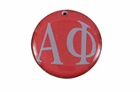 "W1620SC - ALPHA PHI COLOR DISK CHARM<BR><FONT size=""2"">Buy 1-2 for $6.25 Each<br>Buy 3-5 for $5.63 Each<br>Buy 6-11 for $3.75 Each<br>Buy 12-23 for $3.56 Each<br>Buy 24-49 for $3.31 Each<br>Buy 50 or More for $2.94 Each</font>"