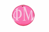 "W1630SC - PHI MU COLOR DISK CHARM<BR><FONT size=""2"">Buy 1-2 for $6.25 Each<br>Buy 3-5 for $5.63 Each<br>Buy 6-11 for $3.75 Each<br>Buy 12-23 for $3.56 Each<br>Buy 24-49 for $3.31 Each<br>Buy 50 or More for $2.94 Each</font>"