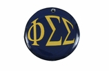 "W1631SC - PHI SIGMA SIGMA COLOR DISK CHARM<BR><FONT size=""2"">Buy 1-2 for $6.25 Each<br>Buy 3-5 for $5.63 Each<br>Buy 6-11 for $3.75 Each<br>Buy 12-23 for $3.56 Each<br>Buy 24-49 for $3.31 Each<br>Buy 50 or More for $2.94 Each</font>"