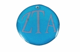 "W1637SC - ZETA TAU ALPHA COLOR DISK CHARM<BR><FONT size=""2"">Buy 1-2 for $6.25 Each<br>Buy 3-5 for $5.63 Each<br>Buy 6-11 for $3.75 Each<br>Buy 12-23 for $3.56 Each<br>Buy 24-49 for $3.31 Each<br>Buy 50 or More for $2.94 Each</font>"