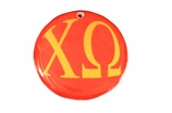 "W1662SC - CHI OMEGA COLOR DISK CHARM<BR><FONT size=""2"">Buy 1-2 for $6.25 Each<br>Buy 3-5 for $5.63 Each<br>Buy 6-11 for $3.75 Each<br>Buy 12-23 for $3.56 Each<br>Buy 24-49 for $3.31 Each<br>Buy 50 or More for $2.94 Each</font>"