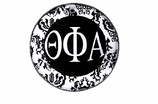 "W1667SC - THETA PHI ALPHA BLACK AND WHITE FLORAL DISK CHARM<BR><FONT size=""2"">Buy 1-2 for $6.25 Each<br>Buy 3-5 for $5.63 Each<br>Buy 6-11 for $3.75 Each<br>Buy 12-23 for $3.56 Each<br>Buy 24-49 for $3.31 Each<br>Buy 50 or More for $2.94 Each</font>"