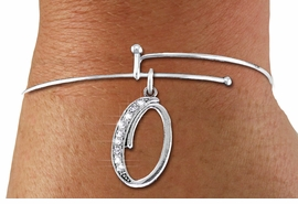 <BR>   NICKEL FREE & ADJUSTABLE BRACELET !<br>       PERSONALIZED INITIAL BRACELET <bR>                  EXCLUSIVELY OURS!! <Br>             AN ALLAN ROBIN DESIGN!! <BR>    CLICK HERE TO SEE 1000+ EXCITING <BR>          CHANGES THAT YOU CAN MAKE! <BR>                LEAD & NICKEL FREE!! <BR>   W1668SB - SILVER TONE AND CRYSTAL  <BR>SCRIPT ALPHABET INITIAL CHARM ON ADJUSTABLE <Br>THIN WIRE BRACELET FROM $4.50 TO $10.00