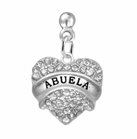 "<BR>                       THE ""PERFECT GIFT""<BR>       ""ABUELA""  EXCLUSIVELY OURS!!   <Br>               AN ALLAN ROBIN DESIGN!!   <br>                         HYPOALLERGENIC<BR>        NICKEL, LEAD & CADMIUM FREE!!   <BR>W1759E2 - FROM $5.98 TO $12.85 ©2015"