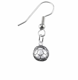 <BR>    WHOLESALE SOCCER FASHION SPORTS JEWELRY    <BR>                         EXCLUSIVELY OURS!!         <Br>                    AN ALLAN ROBIN DESIGN!!        <BR>                             HYPOALLERGENIC      <BR>               NICKEL, LEAD & CADMIUM FREE!         <BR>   W1804E1 - 3D SPHERE SOCCER BALL CHARM ON      <BR> A PAIR OF SURGICAL STEEL FISHHOOK EARRINGS  <BR>                 FROM $6.23 TO $11.75 �2016
