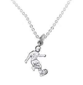 <BR>       WHOLESALE SOCCER TEAM SPORTS JEWELRY     <BR>                         EXCLUSIVELY OURS!!          <Br>                    AN ALLAN ROBIN DESIGN!!         <BR>                             HYPOALLERGENIC       <BR>               NICKEL, LEAD & CADMIUM FREE!          <BR>W1806N1 - 3D KICKING SOCCER PLAYER CHARM ON       <BR>     CHAIN LINK NECKLACE WITH LOBSTER CLASP   <BR>                 FROM $6.23 TO $11.75 �2016