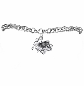 <BR>       WHOLESALE SOCCER TEAM SPORTS JEWELRY     <BR>                         EXCLUSIVELY OURS!!          <Br>                    AN ALLAN ROBIN DESIGN!!         <BR>                             HYPOALLERGENIC       <BR>               NICKEL, LEAD & CADMIUM FREE!          <BR>   W1807B2 - 3D SOCCER GOALIE SAVE CHARM ON       <BR>     CHAIN LINK BRACELET WITH LOBSTER CLASP   <BR>                 FROM $6.23 TO $11.75 �2016