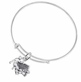 <BR>       WHOLESALE SOCCER TEAM SPORTS JEWELRY     <BR>                         EXCLUSIVELY OURS!!          <Br>                    AN ALLAN ROBIN DESIGN!!         <BR>                             HYPOALLERGENIC       <BR>               NICKEL, LEAD & CADMIUM FREE!          <BR>   W1807B9 - 3D SOCCER GOALIE SAVE CHARM ON       <BR>      ADJUSTABLE THIN MIRACLE WIRE BRACELET   <BR>                 FROM $6.23 TO $11.75 �2016