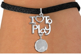 "<br>      WHOLESALE MUSIC FASHION BRACELET <bR>                    EXCLUSIVELY OURS!!<BR>               AN ALLAN ROBIN DESIGN!!<BR>         CADMIUM, LEAD & NICKEL FREE!!<BR>     W20763B - BEAUTIFUL SILVER TONE <Br>""I LOVE TO PLAY"" & TAMBOURINE CHARM <BR>    BRACELET FROM $5.70 TO $10.75 �2013"