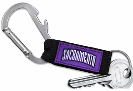 <bR>  WHOLESALE NBA BASKETBALL KEYCHAIN <BR>           OFFICIAL NBA LICENSED!! <br>            LEAD & NICKEL FREE!!! <br>   W20914KC - SACRAMENTO KINGS LOGO <BR> CARABINER WITH BOTTLE OPENER AND <BR>KEY CHAIN YOURS FOR $1.43 To $1.68 EACH �2013