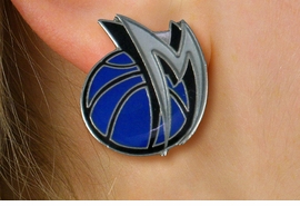 <bR>             LEAD & NICKEL FREE!! <Br>            OFFICIAL NBA LICENSED!! <Br>NATIONAL BASKETBALL ASSOCIATION!! <Br>   W20999E - DALLAS MAVERICKS <Br> SILVER TONE POST EARRINGS <BR>         FROM $2.99 �2013