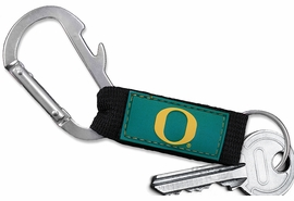 "<bR> WHOLESALE SCHOOL TEAM KEYCHAIN <BR>     OFFICIAL COLLEGIATE LICENSED!! <br>             LEAD & NICKEL FREE!!! <br>W21011KC - UNIVERSITY OF OREGON <BR>""O"" CARABINER WITH BOTTLE OPENER <BR>  AND KEY CHAIN FOR ONLY $3.53 �2013"