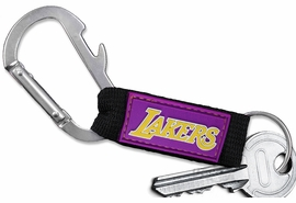 <bR>  WHOLESALE NBA BASKETBALL KEYCHAIN <BR>           OFFICIAL NBA LICENSED!! <br>            LEAD & NICKEL FREE!!! <br> W21043KC - LOS ANGELES LAKERS LOGO <BR> CARABINER WITH BOTTLE OPENER AND <BR>      KEY CHAIN YOURS FOR $1.43 To $1.68 EACH �2013