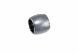 <br>     WHOLESALE COSTUME JEWELRY PARTS <br>        CADMIUM, LEAD, AND NICKEL FREE!  <BR>  W21226JP - BRIGHT SILVER TONE CHARM <BR> SPACERS TO SEPERATE CHARMS, $.43 EACH