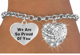 <BR>                                   VOLLEYBALL HEART CHARM BRACELET WHOLESALE <bR>                 W21393B - THE NEW WAY TO EXPRESS LOVE, MOTIVATION,<BR>          POSITIVE, AFFIRMATIVE EXPRESSIONS, THAT WILL GO PERFECTLY<br>        WITH ANOTHER POSITIVE AFFIRMATION CHARM IF YOU WANT  ONE,<BR>   MORE CHOICES LOOK BELOW,  CHARM BRACELET FROM $9.42 TO $12.87<BR>                                    CostumeJewelryWholesale.com �2014