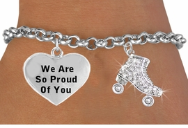 <BR>                                  ROLLER SKATE CHARM BRACELET WHOLESALE <bR>                 W21397B - THE NEW WAY TO EXPRESS LOVE, MOTIVATION,<BR>          POSITIVE, AFFIRMATIVE EXPRESSIONS, THAT WILL GO PERFECTLY<br>        WITH ANOTHER POSITIVE AFFIRMATION CHARM IF YOU WANT  ONE,<BR>   MORE CHOICES LOOK BELOW,  CHARM BRACELET FROM $9.42 TO $12.87<BR>                                    CostumeJewelryWholesale.com �2014