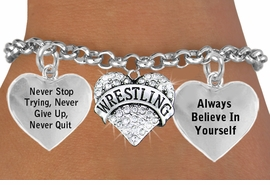 <BR>                             CRYSTAL WRESTLING HEART CHARM BRACELET WHOLESALE <bR>                 W21439B - THE NEW WAY TO EXPRESS LOVE, MOTIVATION,<BR>          POSITIVE, AFFIRMATIVE EXPRESSIONS, THAT WILL GO PERFECTLY<br>        WITH ANOTHER POSITIVE AFFIRMATION CHARM IF YOU WANT  ONE,<BR>   MORE CHOICES LOOK BELOW,  CHARM BRACELET FROM $9.73 TO $14.58<BR>                                    CostumeJewelryWholesale.com �2014