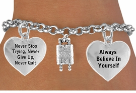 <BR>                 BEAUTIFUL TORAH SCROLL CHARM BRACELET WHOLESALE <bR>  W21450B - THE NEW WAY TO EXPRESS LOVE, MOTIVATION, INSPIRATION,<BR>          POSITIVE, AFFIRMATIVE EXPRESSIONS, THAT WILL GO PERFECTLY<br>        WITH ANOTHER POSITIVE AFFIRMATION CHARM IF YOU WANT  ONE,<BR>   MORE CHOICES LOOK BELOW,  CHARM BRACELET FROM $9.73 TO $14.58<BR>                                    CostumeJewelryWholesale.com �2014