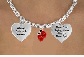 "<BR>               BEAUTIFUL ""BOXING GLOVES"" CHARM NECKLACE WHOLESALE <bR>                 W21486N - THE NEW WAY TO EXPRESS LOVE, MOTIVATION,<BR>          POSITIVE, AFFIRMATIVE EXPRESSIONS, THAT WILL GO PERFECTLY<br>        WITH ANOTHER POSITIVE AFFIRMATION CHARM IF YOU WANT  ONE,<BR>   MORE CHOICES LOOK BELOW,  CHARM NECKLACE FROM $9.73 TO $14.58<BR>                                    CostumeJewelryWholesale.com �2014"