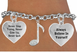 "<BR>GENUINE "" CRYSTAL MUSICAL NOTE "" ADJUSTABLE CHARM BRACELET WHOLESALE <bR>                    W21495B - THE NEW WAY TO EXPRESS LOVE, MOTIVATION,<BR>             POSITIVE, AFFIRMATIVE EXPRESSIONS, THAT WILL GO PERFECTLY<br>           WITH ANOTHER POSITIVE AFFIRMATION CHARM IF YOU WANT  ONE,<BR>      MORE CHOICES LOOK BELOW,  CHARM BRACELET FROM $9.73 TO $14.58<BR>                                       CostumeJewelryWholesale.com �2014"