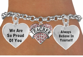 "<BR>                                      GENUINE "" CRYSTAL TEACHER "" CHARM<BR>                                 ADJUSTABLE CHARM BRACELET WHOLESALE <bR>                    W21514B - THE NEW WAY TO EXPRESS LOVE, MOTIVATION,<BR>             POSITIVE, AFFIRMATIVE EXPRESSIONS, THAT WILL GO PERFECTLY<br>           WITH ANOTHER POSITIVE AFFIRMATION CHARM IF YOU WANT  ONE,<BR>      MORE CHOICES LOOK BELOW,  CHARM BRACELET FROM $9.73 TO $14.58<BR>                                       CostumeJewelryWholesale.com �2014"