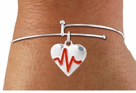 "<BR>                                  NICKEL FREE & ADJUSTABLE NECKLACE ! <BR>                                                         ""THE PERFECT GIFT"",<BR>                               ""Your Love Makes My Heart Beat"","" I Love You"", Or<BR>                      In Recognition Of ""Women's Or Children's Heart Disease""<BR>                           "" HEARTBEAT "" ADJUSTABLE FASHION BRACELET<BR>                               AN ORIGINAL  ALLAN ROBIN CUSTOM DESIGN<br>                                          WHOLESALE CHARM BRACELET <BR>                                        LEAD, CADMIUM & NICKEL FREE!!  <BR>                                         W21565B-ADJUSTABLE FASHION  <BR>                             BRACELET FROM $4.90 TO $5.85 EACH! ©2015"
