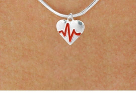 "<BR>                                        NICKEL FREE & ADJUSTABLE NECKLACE ! <BR>                                                         ""THE PERFECT GIFT"",<BR>                               ""Your Love Makes My Heart Beat"","" I Love You"", Or<BR>                      In Recognition Of ""Women's Or Children's Heart Disease""<BR>                   ""HEARTBEAT"" CHARM SNAKE CHAIN ADJUSTABLE NECKLACE<BR>                                     AN ORIGINAL ALLAN ROBIN CUSTOM DESIGN<br>                                                   WHOLESALE CHARM NECKLACE <BR>                                                 LEAD, CADMIUM & NICKEL FREE!!  <BR>             W21580N-SNAKE CHAIN, BRIGHT SILVER TONE ADJUSTABLE NECKLACE <BR>                                   FITS ALL SIZES FROM $5.60 TO $9.85 EACH! ©2015"