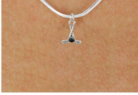 <BR>         NICKEL FREE & ADJUSTABLE NECKLACE ! <BR>WHOLESALE HOCKEY SNAKE CHAIN NECKLACE <bR>                            EXCLUSIVELY OURS!! <Br>                       AN ALLAN ROBIN DESIGN!! <BR>                 LEAD, NICKEL & CADMIUM FREE!! <BR>              W21584N - SILVER TONE HOCKEY STICKS <BR>            AND PUCK CHARM ADJUSTABLE NECKLACE <BR>                     FROM $4.50 TO $10.00 �2015