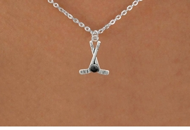 <BR>        NICKEL FREE & ADJUSTABLE NECKLACE !<BR>WHOLESALE HOCKEY SMALL CHAIN NECKLACE <bR>                            EXCLUSIVELY OURS!! <Br>                       AN ALLAN ROBIN DESIGN!! <BR>                 LEAD, NICKEL & CADMIUM FREE!! <BR>              W21588N - SILVER TONE HOCKEY STICKS <BR>            AND PUCK CHARM ADJUSTABLE NECKLACE <BR>                     FROM $4.50 TO $10.00 �2015